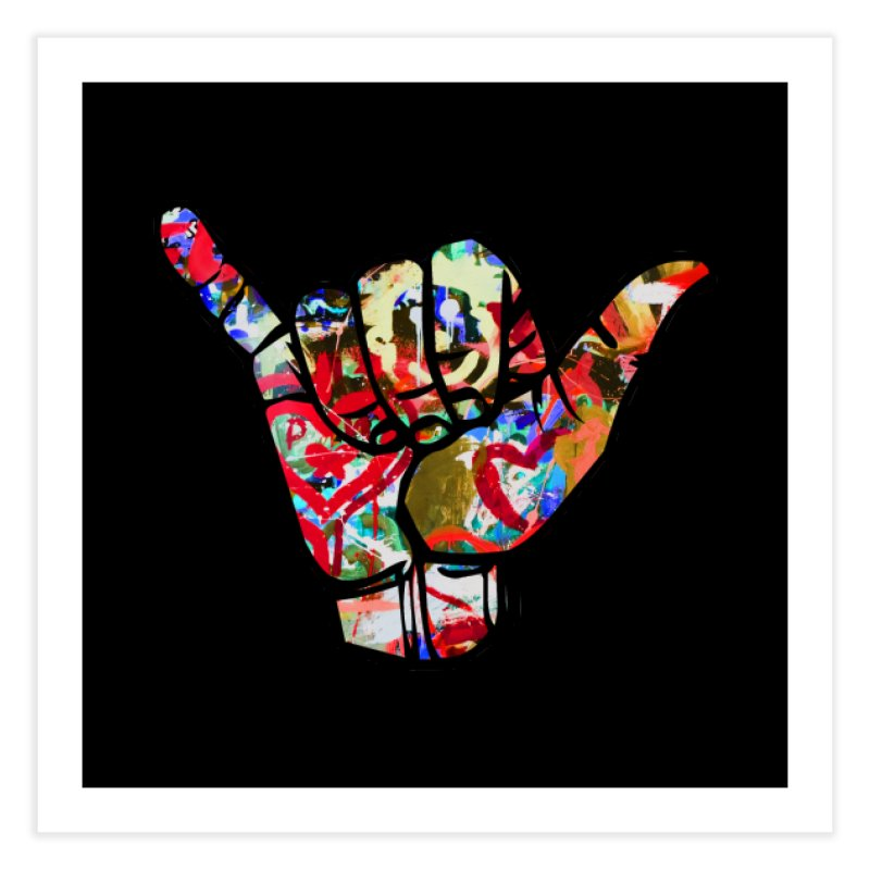 SHAKA Home Fine Art Print by Civil Wear Clothing