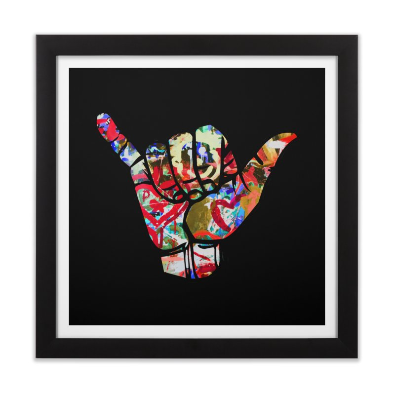 SHAKA Home Framed Fine Art Print by Civil Wear Clothing