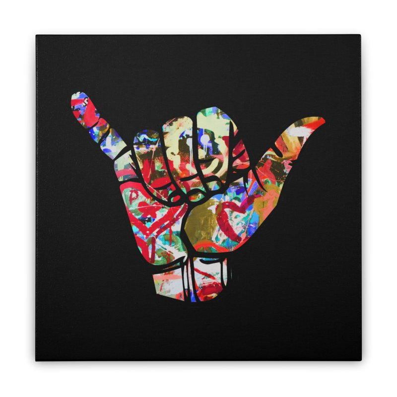 SHAKA Home Stretched Canvas by Civil Wear Clothing