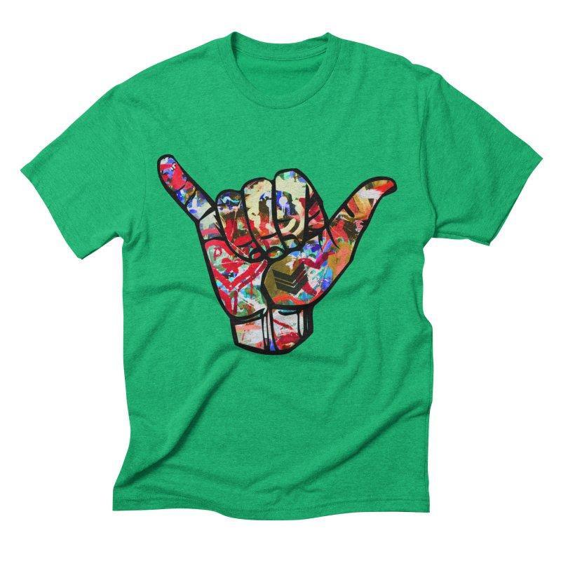 SHAKA Men's Triblend T-Shirt by Civil Wear Clothing