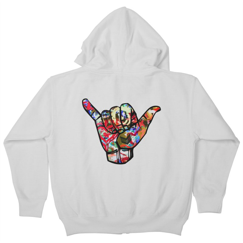 SHAKA Kids Zip-Up Hoody by Civil Wear Clothing