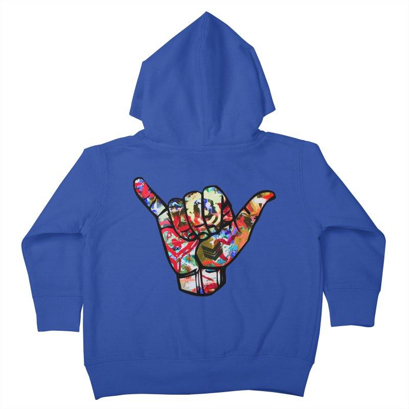 SHAKA Kids Toddler Zip-Up Hoody by Civil Wear Clothing