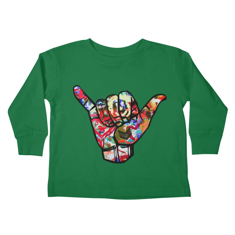 SHAKA Kids Toddler Longsleeve T-Shirt by Civil Wear Clothing