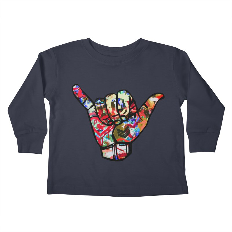 SHAKA Kids Toddler Longsleeve T-Shirt by Civil Wear Clothing