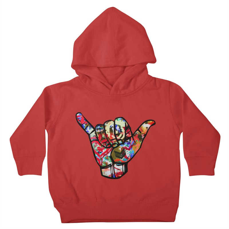SHAKA Kids Toddler Pullover Hoody by Civil Wear Clothing