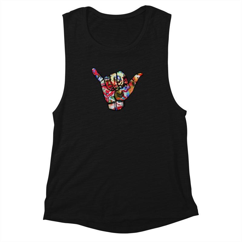 SHAKA Women's Muscle Tank by Civil Wear Clothing