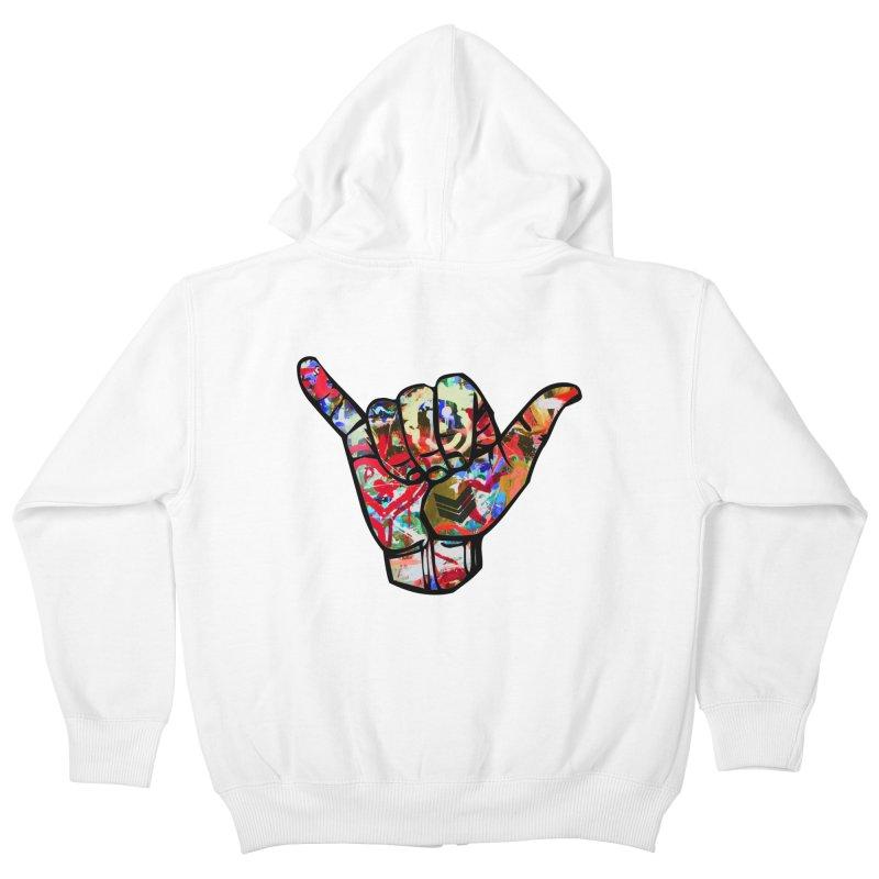 SHAKA Kids Zip-Up Hoody by Civil Wear Clothing