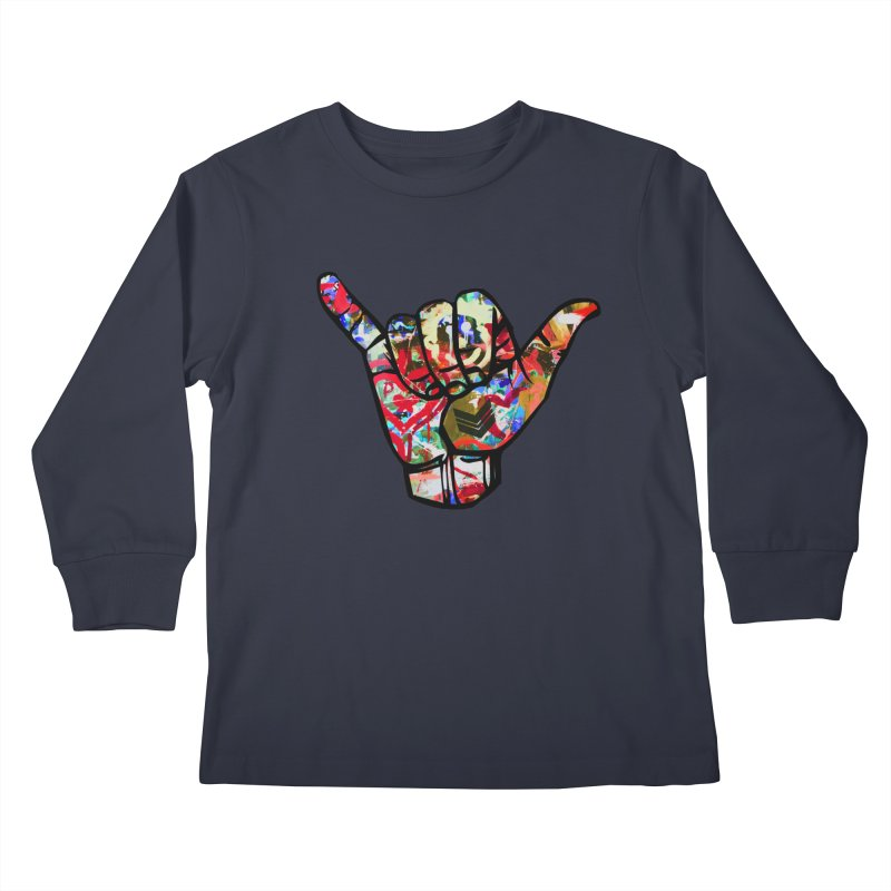 SHAKA Kids Longsleeve T-Shirt by Civil Wear Clothing