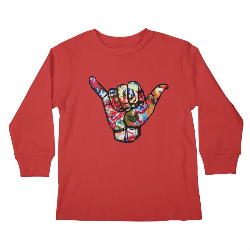 SHAKA Kids Longsleeve T-Shirt by Civil Wear Clothing
