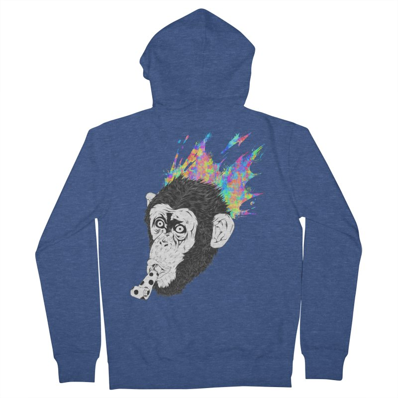 Party Animal Women's Zip-Up Hoody by Civil Wear Clothing