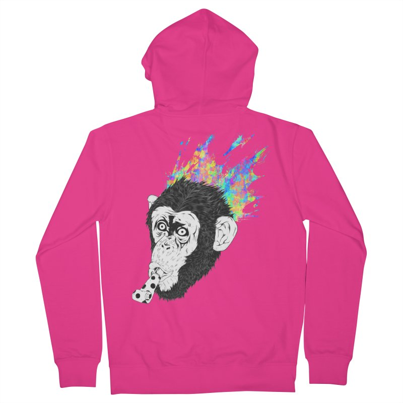 Party Animal Men's Zip-Up Hoody by Civil Wear Clothing