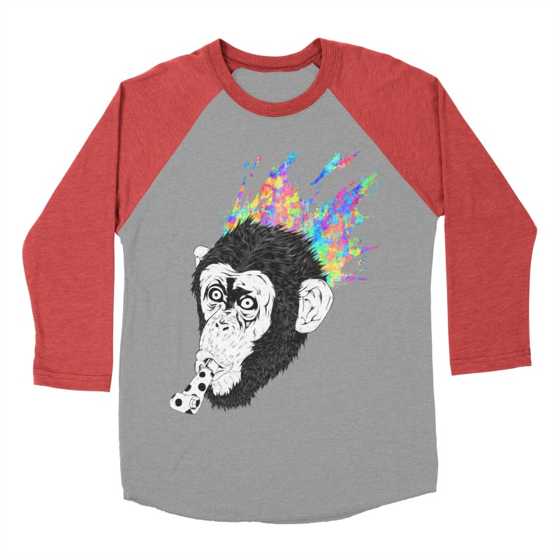 Party Animal Women's Baseball Triblend T-Shirt by Civil Wear Clothing