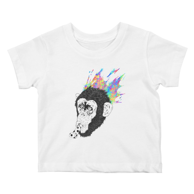 Party Animal Kids Baby T-Shirt by Civil Wear Clothing
