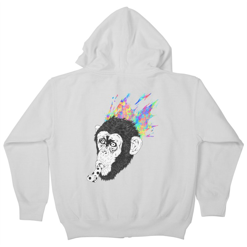Party Animal Kids Zip-Up Hoody by Civil Wear Clothing