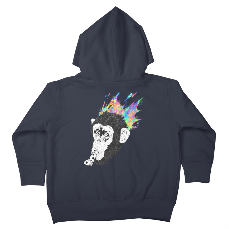 Party Animal Kids Toddler Zip-Up Hoody by Civil Wear Clothing