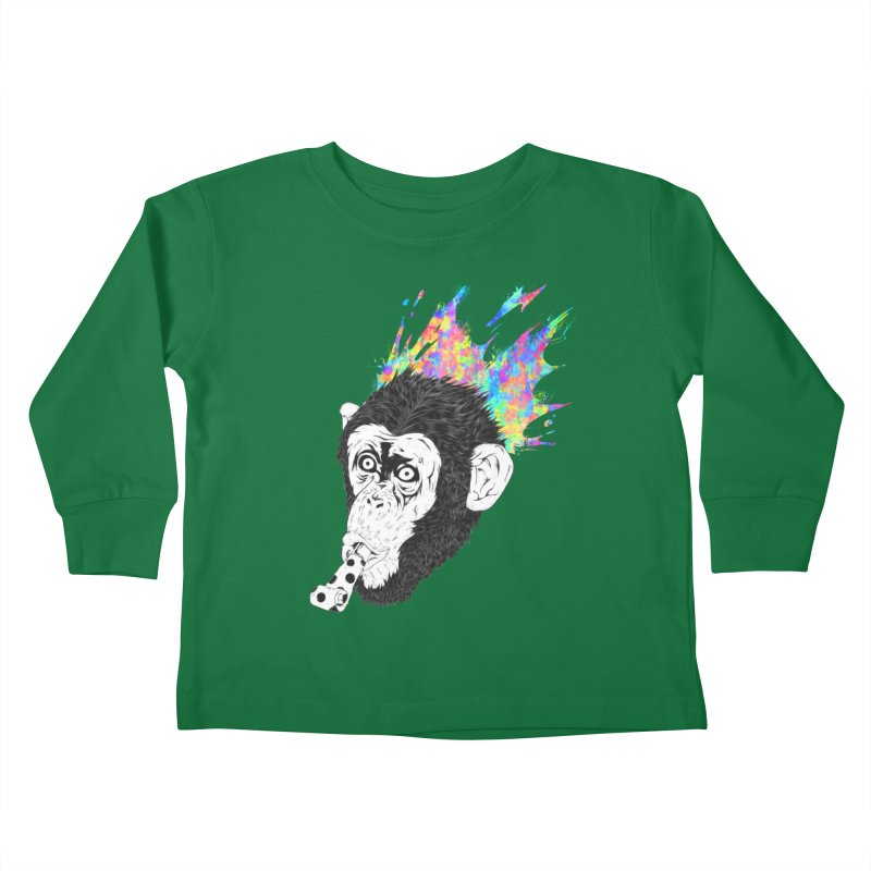 Party Animal Kids Toddler Longsleeve T-Shirt by Civil Wear Clothing