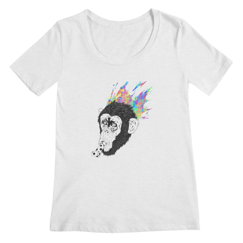 Party Animal Women's Scoopneck by Civil Wear Clothing