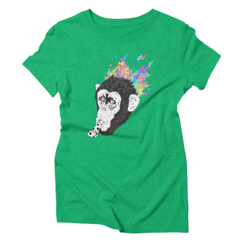 Party Animal Women's Triblend T-Shirt by Civil Wear Clothing