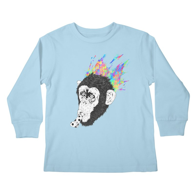 Party Animal Kids Longsleeve T-Shirt by Civil Wear Clothing