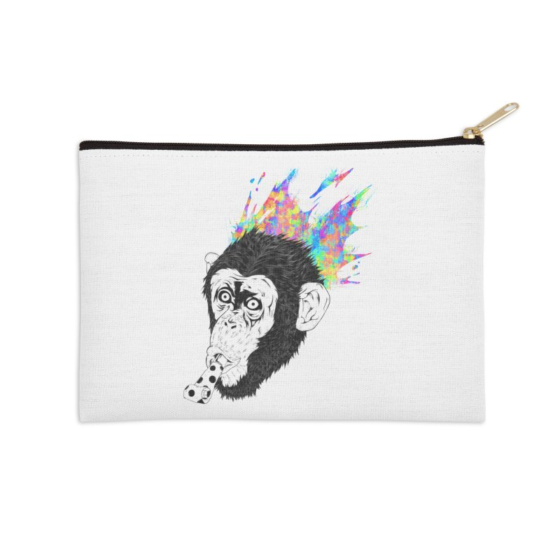 Party Animal Accessories Zip Pouch by Civil Wear Clothing