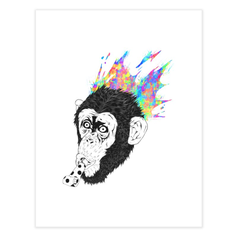Party Animal Home Fine Art Print by Civil Wear Clothing