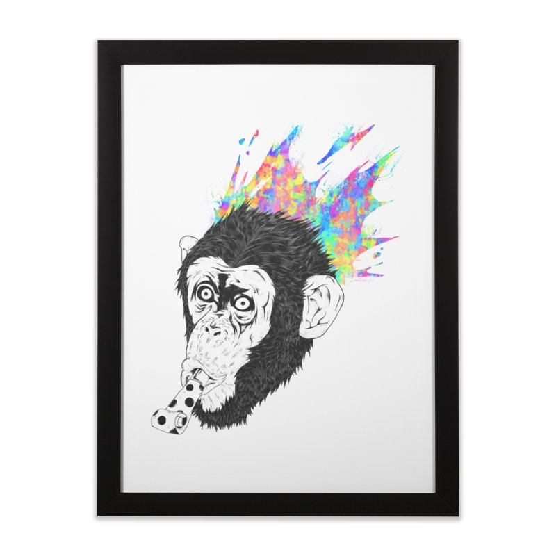 Party Animal Home Framed Fine Art Print by Civil Wear Clothing