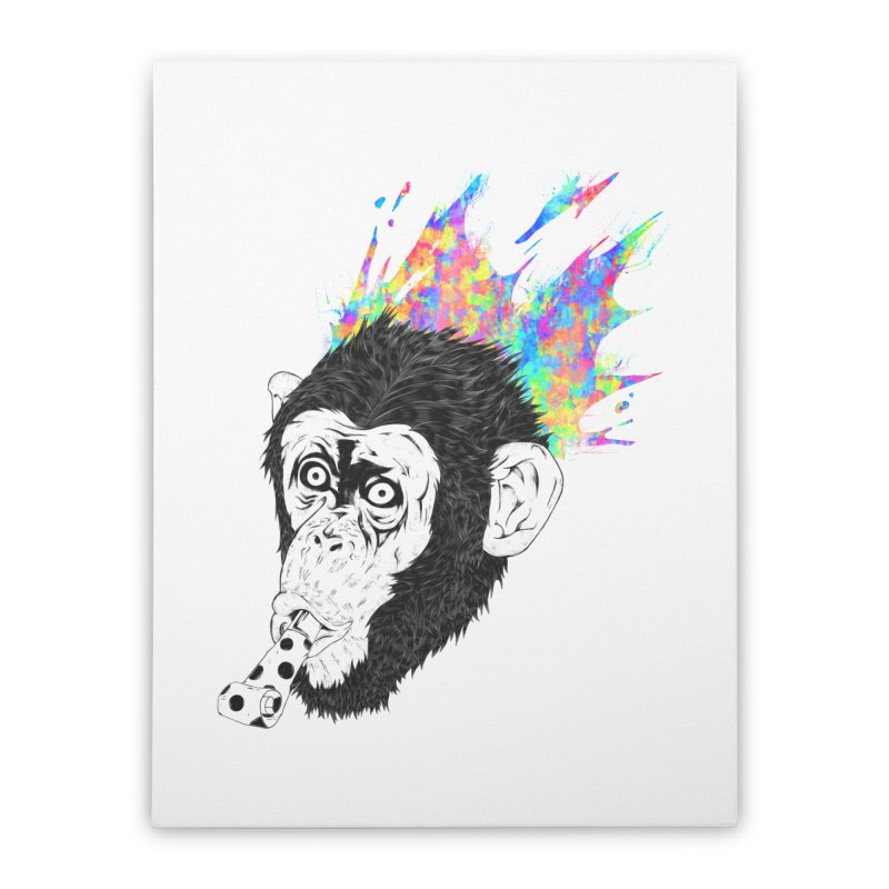 Party Animal Home Stretched Canvas by Civil Wear Clothing