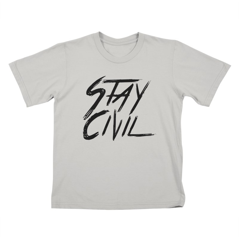 """Stay Civil"" Kids T-shirt by Civil Wear Clothing"