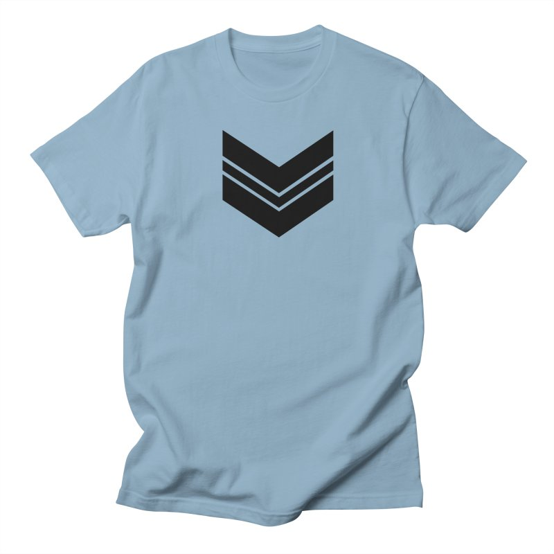 Civil Wear Logo Tee in Men's T-Shirt Light Blue by Civil Wear Clothing