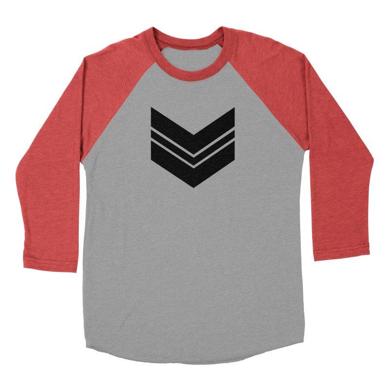 Civil Wear Logo Tee Women's Baseball Triblend T-Shirt by Civil Wear Clothing