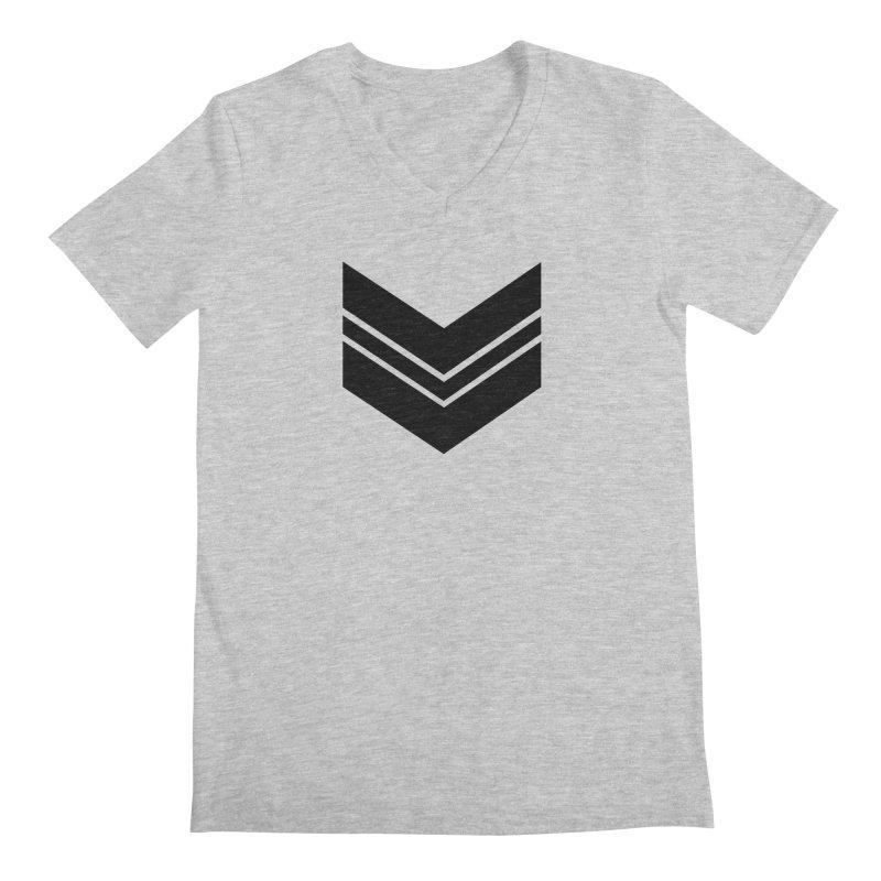 Civil Wear Logo Tee Men's V-Neck by Civil Wear Clothing
