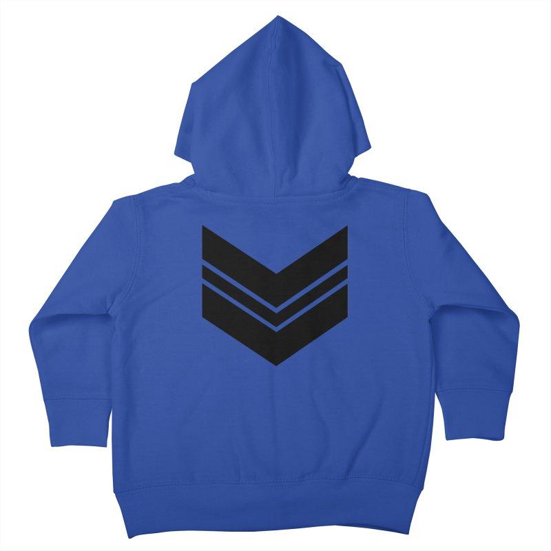 Civil Wear Logo Tee Kids Toddler Zip-Up Hoody by Civil Wear Clothing