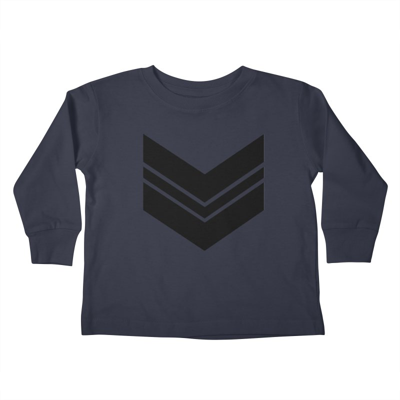 Civil Wear Logo Tee Kids Toddler Longsleeve T-Shirt by Civil Wear Clothing