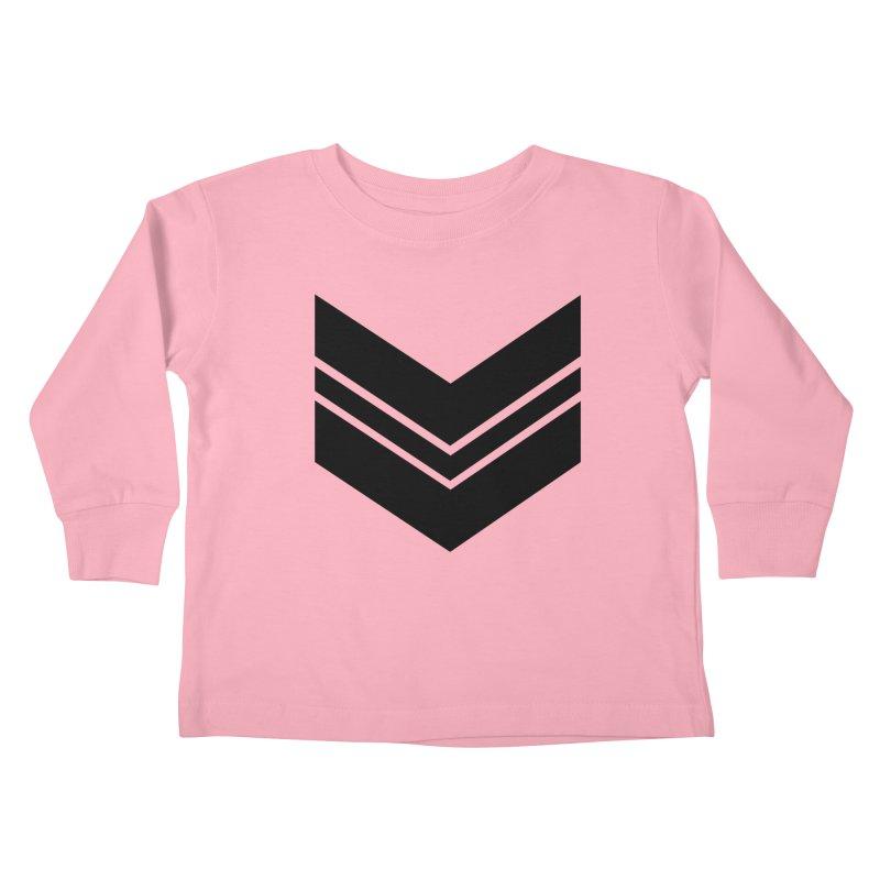Civil Wear Logo Tee Kids Toddler Longsleeve T-Shirt by Civil Wear Clothing