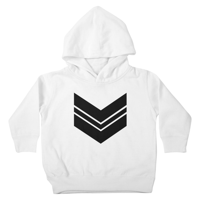 Civil Wear Logo Tee Kids Toddler Pullover Hoody by Civil Wear Clothing