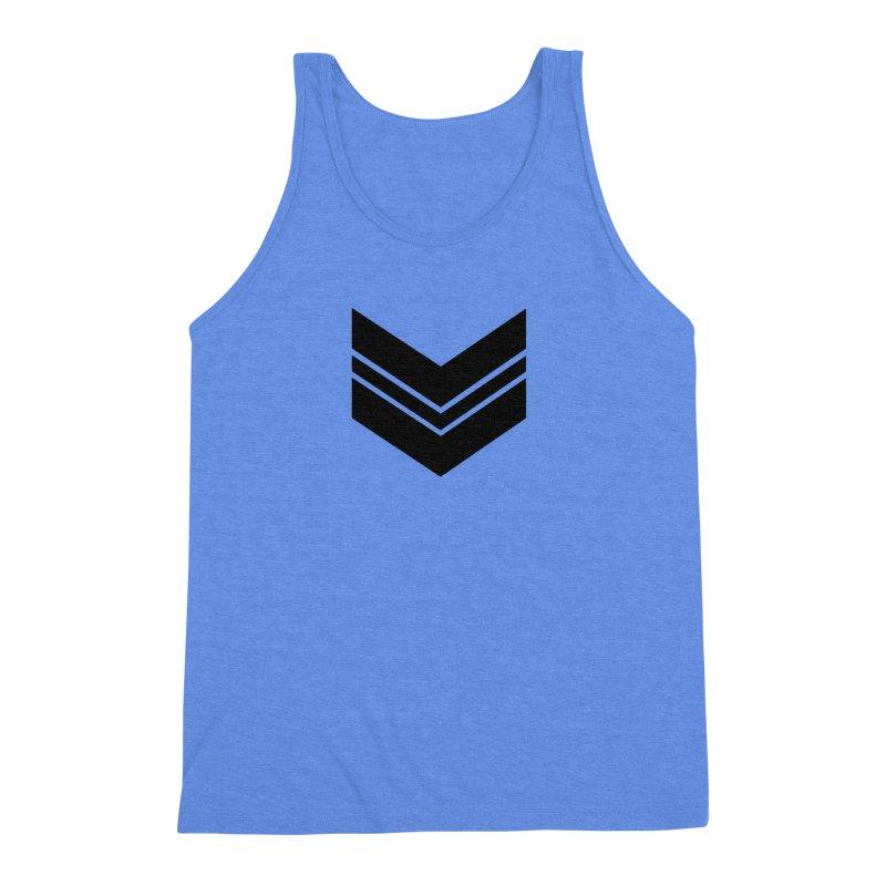 Civil Wear Logo Tee Men's Triblend Tank by Civil Wear Clothing