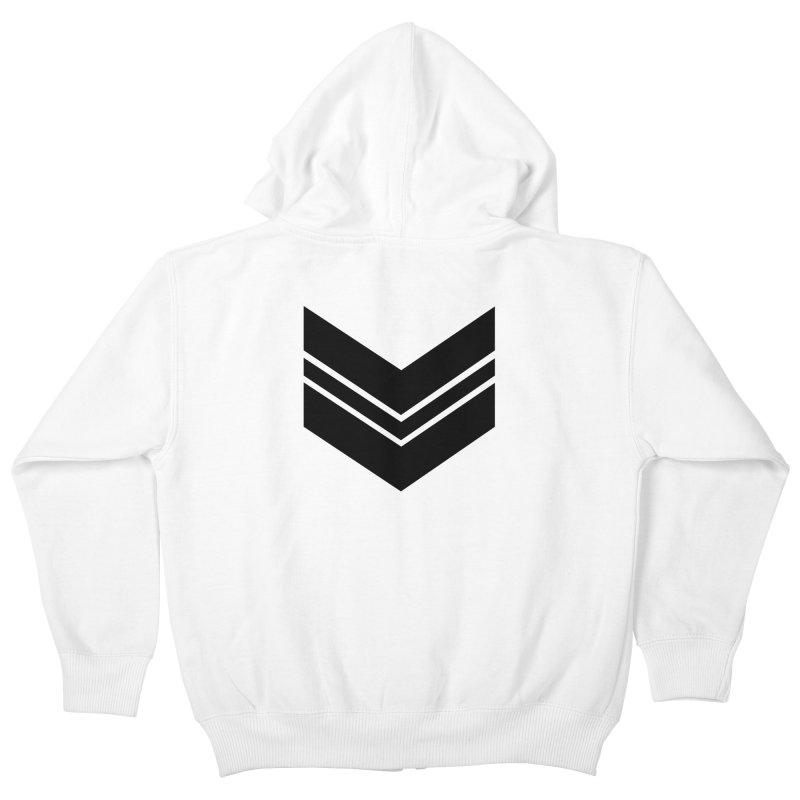 Civil Wear Logo Tee Kids Zip-Up Hoody by Civil Wear Clothing