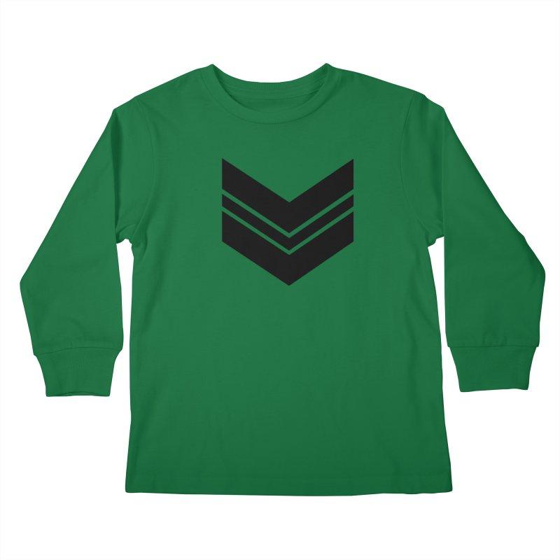 Civil Wear Logo Tee Kids Longsleeve T-Shirt by Civil Wear Clothing