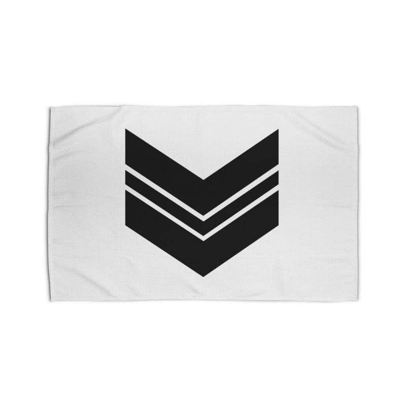 Civil Wear Logo Tee Home Rug by Civil Wear Clothing