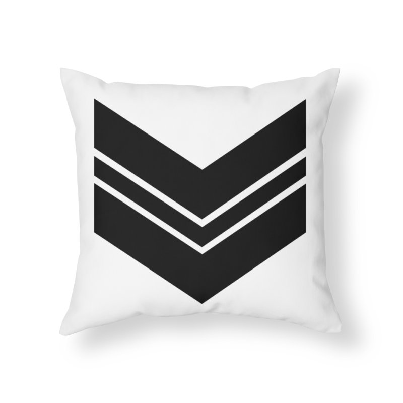 Civil Wear Logo Tee Home Throw Pillow by Civil Wear Clothing