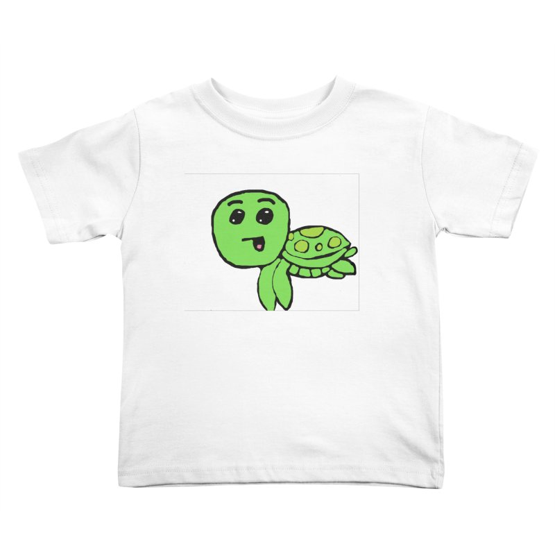 Turtle Kids Toddler T-Shirt by St Baldricks's Artist Shop