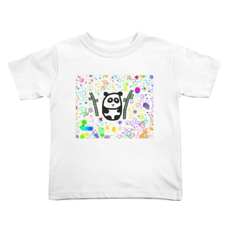 Panda Kids Toddler T-Shirt by St Baldricks's Artist Shop