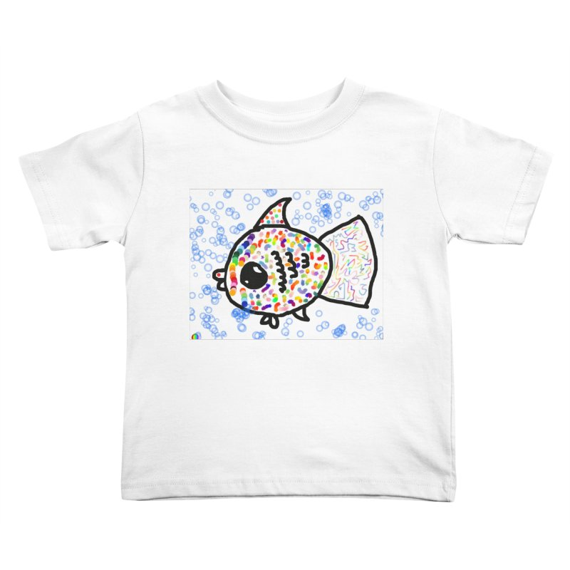 Fish Kids Toddler T-Shirt by St Baldricks's Artist Shop