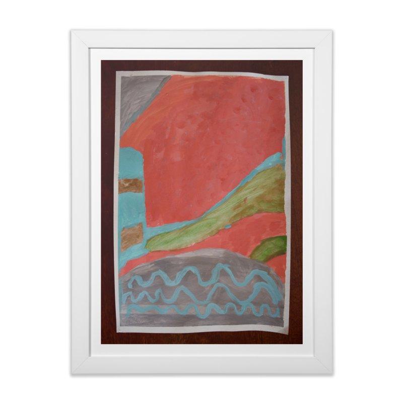 Complementary Quadrant Home Framed Fine Art Print by St Baldricks's Artist Shop