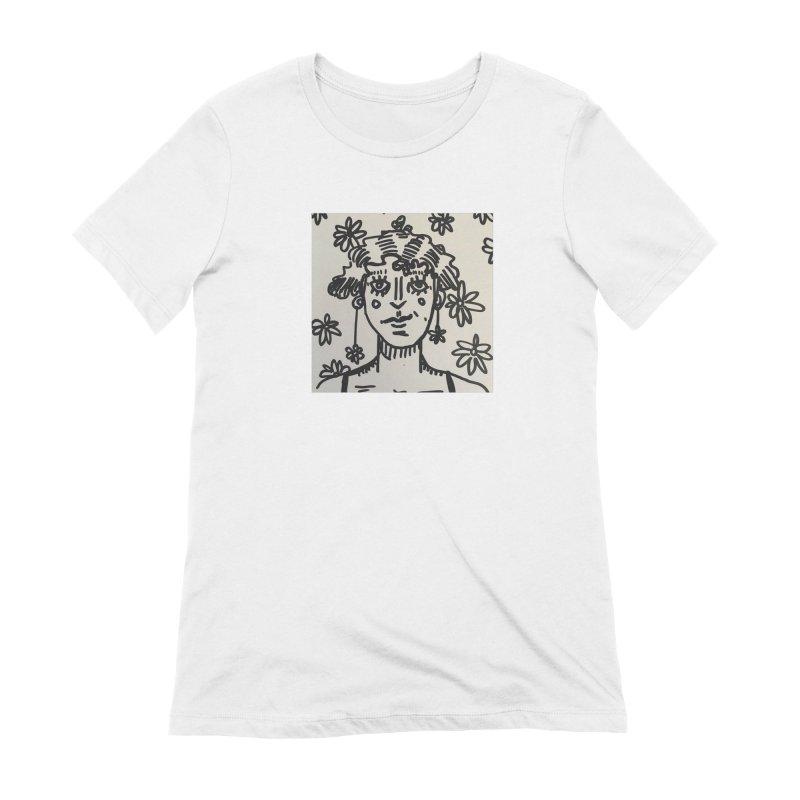 Flower Girl Women's Extra Soft T-Shirt by St Baldricks's Artist Shop
