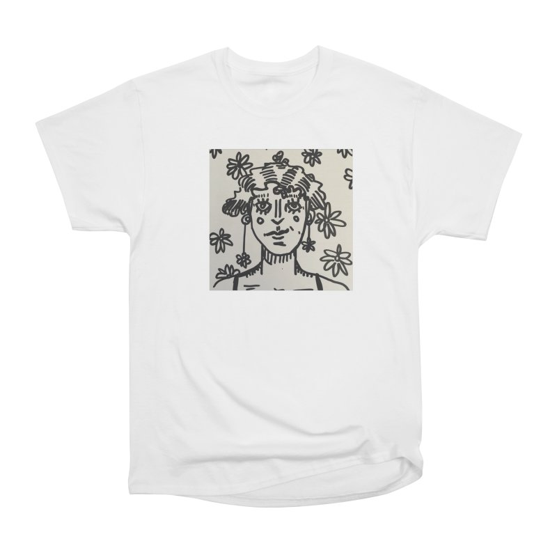 Flower Girl Women's Heavyweight Unisex T-Shirt by St Baldricks's Artist Shop