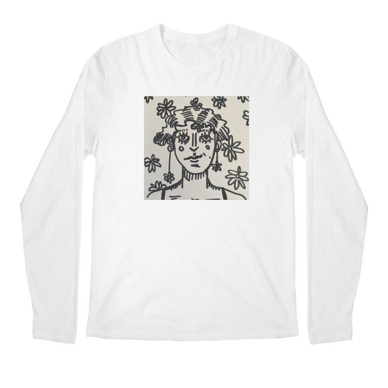 Flower Girl Men's Regular Longsleeve T-Shirt by St Baldricks's Artist Shop