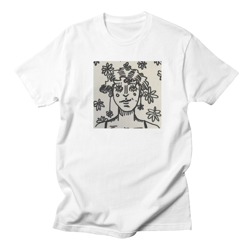 Flower Girl Men's Regular T-Shirt by St Baldricks's Artist Shop