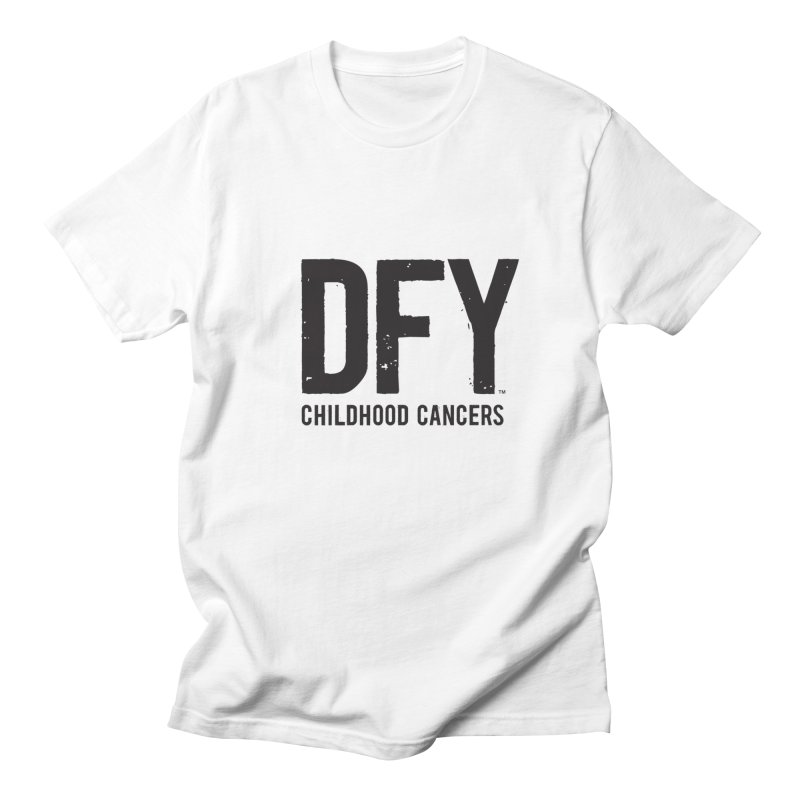 DFY Childhood Cancers Men's Regular T-Shirt by St Baldricks's Artist Shop