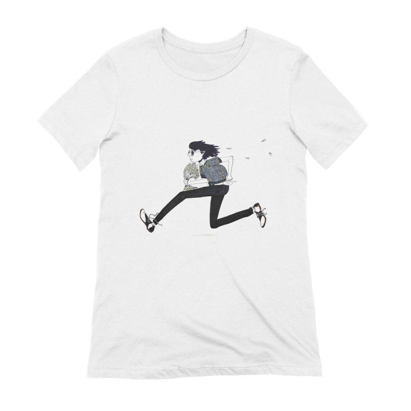 Late Women's Extra Soft T-Shirt by St Baldricks's Artist Shop